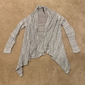 Absolutely Gray Cardigan Sweater in Medium